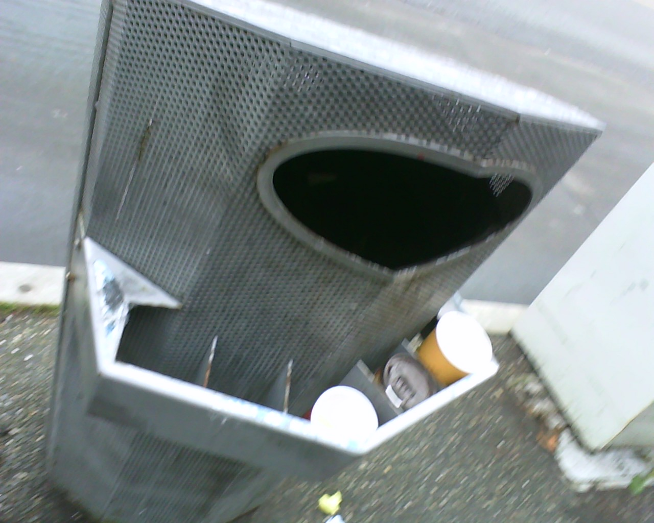 Vancouver garbage can
